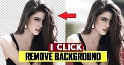 Remove background in 1 click