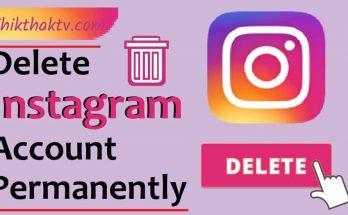 Instagram delete permanently