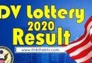 DV lottery result 2020