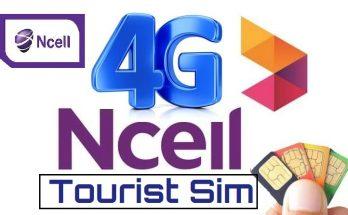 Ncell tourist sim card