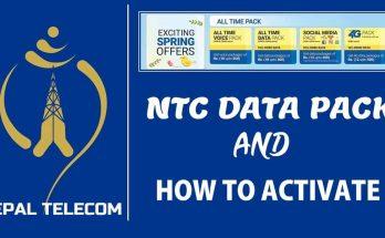 NTC data rates
