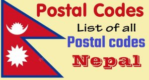 list of postal codes of nepal