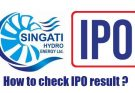 singati hydro ipo result date